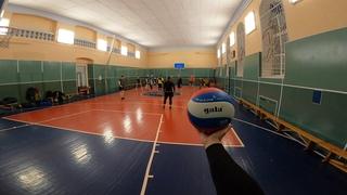 Волейбол от первого лица | VOLLEYBALL FIRST PERSON | BEST MOMENTS | 45 episode | POV