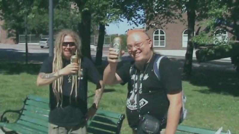 Troll Bends Fir feat. Jonne Järvelä - Humppa Is My Neighbour making-of (official alco video)