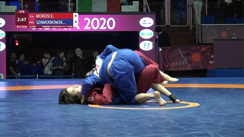 14 Womens GP GI - 64 kg E. MOROSI (ITA) v. Z. SZAWERNOWSKA (POL)