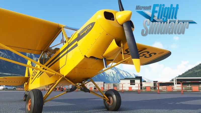 Microsoft Flight Simulator 2020 Hands On Beta Preview Bush Flying Around New Zealand