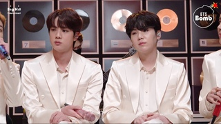 [VIDEO][210310][BANGTAN BOMB] 'Dynamite' Stage CAM (Jin & SUGA focus) @ MTV Unplugged - BTS (방탄소년단)