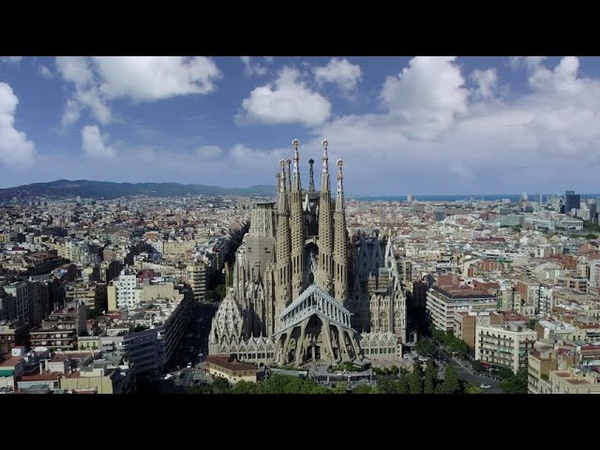 Barcelona and Sitges by Drone 2020