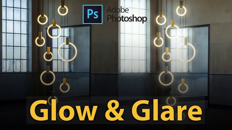 How to add Glow and Glare effect in Photoshop