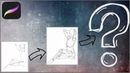Рисунок девушки аниме на планшете Ipad 2018 pro, в procreate/anime girls.