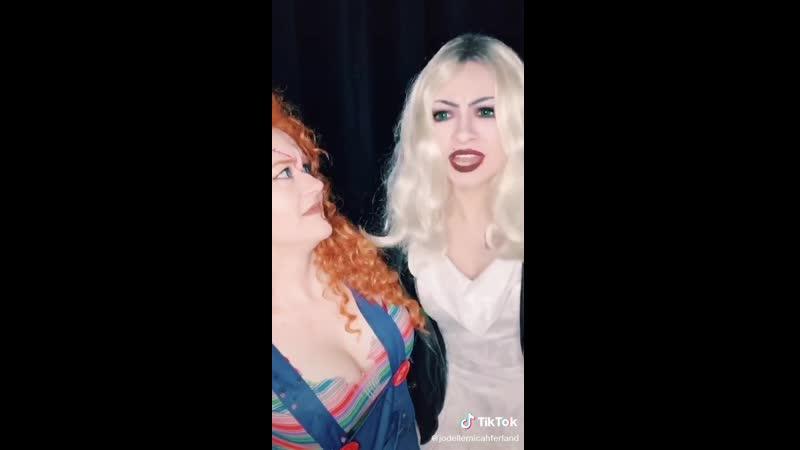 Jodelle Chucky and Tiffany sorry martha