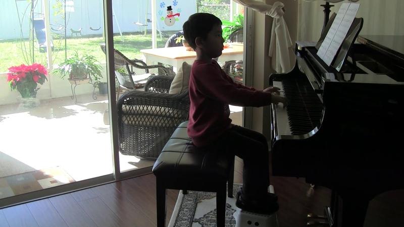 C. Miller Tango Esapniol  Mark Lopat age 6 y.o.