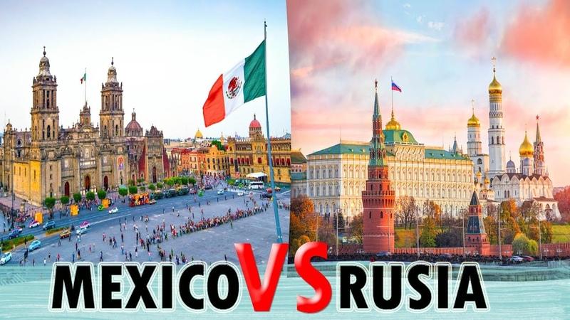 MÉXICO vs RUSIA Que OPINA una RUSA