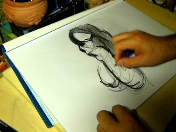 Disegnare una canzone Drawing a song