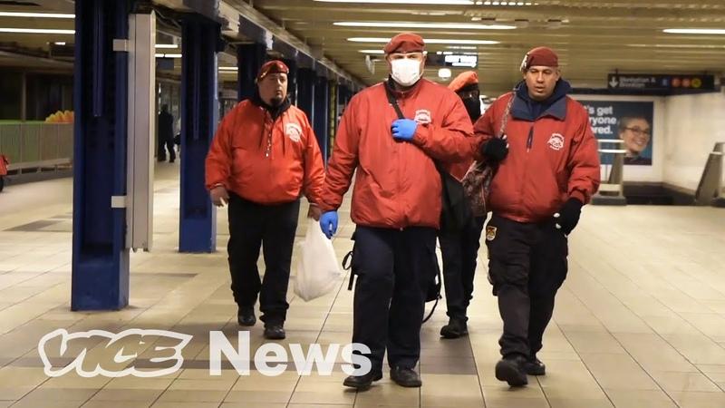 Meet the Guardian Angels Keeping New York City's Homeless Safe from Coronavirus