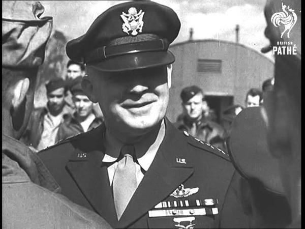 U S Air Chief In Britain 1943