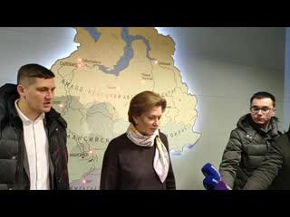 Брифинг  главного государственного санитарного врача РФ А. Ю. Поповой