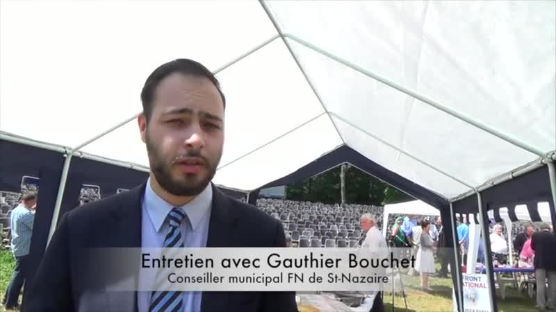 Interview de Gauthier bouchet 5FN conseiller municipal de St Nazaire