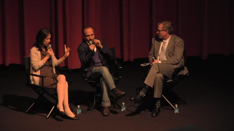 Post-screening discussion with Asghar Farhadi 13.11.2016