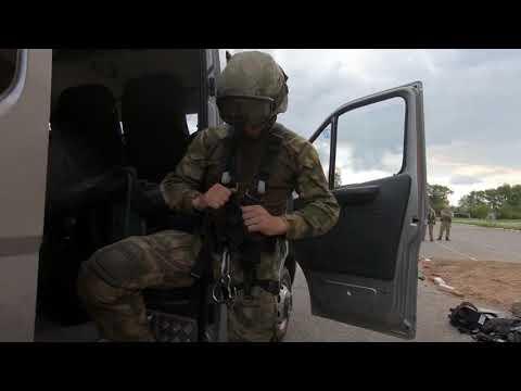 Бойцы СОБР Управления Росгвардии по Пермскому краю