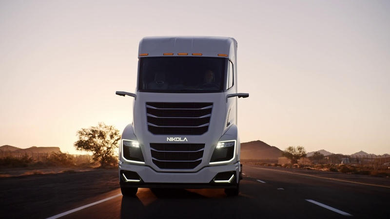 Nikola Motor Company Two Electric Semi Truck Unveiling