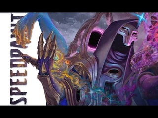 Speedpaint - Jhin Dark Cosmic fanart