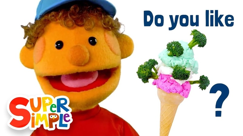 Do You Like Broccoli Ice Cream   featuring The Super Simple Puppets   Super Simple Songs