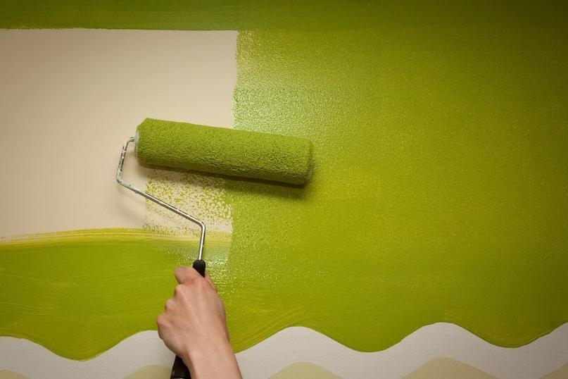 Покраска стен — это просто!