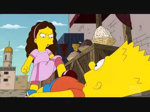 The Simpsons Krav Maga VS Karate