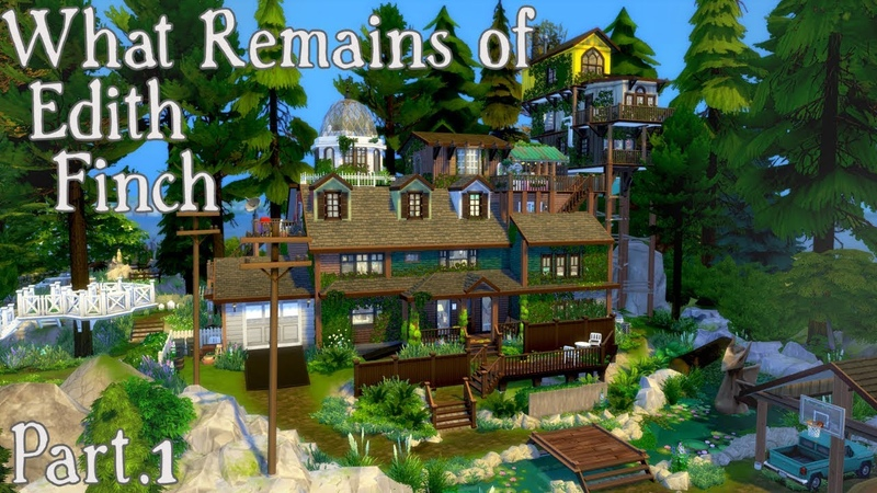 WHAT REMAINS OF EDITH FINCH - SPEEDBUILD - P.1 - The Sims 4