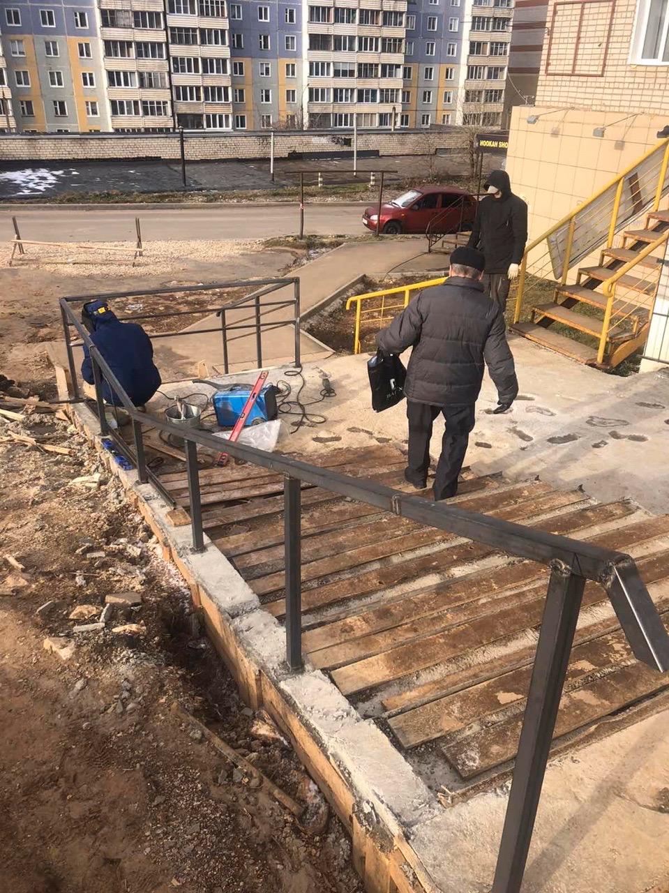 Улица Упита дом 13 продолжение ремонтных работ