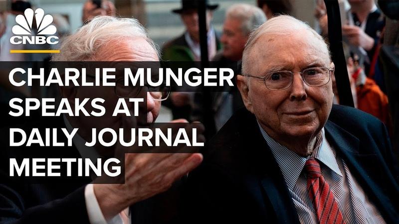 Legendary investor Charlie Munger speaks at Daily Journal annual meeting – 2122020
