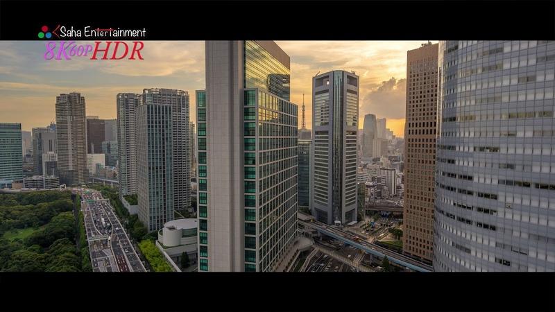 8K4320HDR TOKYO HDR Time Lapse 7 in 8K ハイダナミックレンジ8K東京タイムラプス映像 パート7