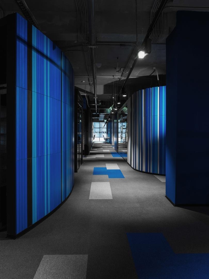 WORKKI coworking space by DA bureau    02