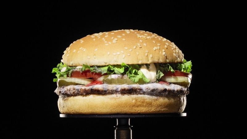 Burger King The Moldy Whopper