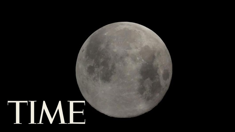 Full Moon Due On Friday The 13th For Most Of The U.S. The Next One Isn't For Another 30 Years | TIME