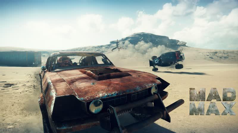 Стрим прохождения Mad Max геймпад от PlayStation 3 часть 1