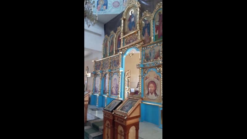 Live Сибайский храм в честь иконы Отрада и утешение