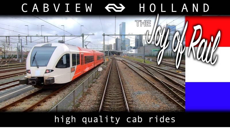 What happened to WINTER? Den Haag - Rotterdam CABVIEW HOLLAND SGM 28jan 2020