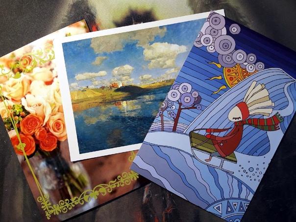 Интересные открытки от октябрины