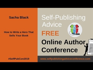 Sacha Black: How to Write a Hero that Sells Your Book