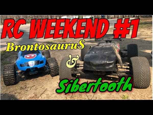 RC WeekEnd №1 HSP Brontosaurus Basher Sibertooth