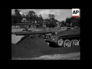 Stridsvagn 103 () делает себе Бруствер