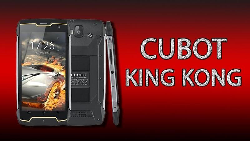 Cubot King Kong доступный защищённый смартфон с IP68