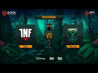 Infamous vs NoPing e-sports, Dota Pro Circuit 2021: S1 - SA, bo3, game 3 [Lex & CrystalMay]