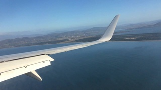 Virgin Australia Flight Landing in Hobart Airport