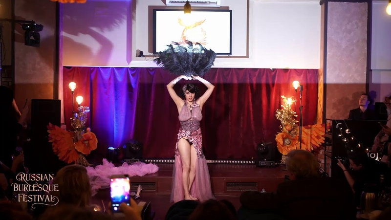 Kristabel Otem Russian Burlesque Festival 2019 Moscow