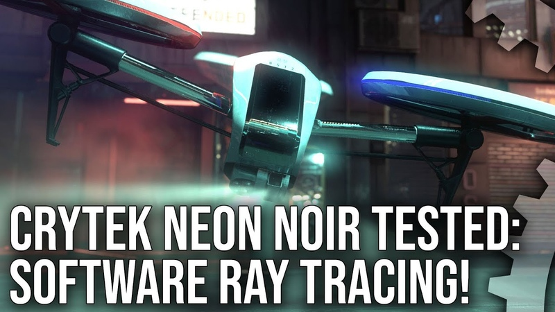 Neon Noir: Crytek's Software Ray Tracing! How Does It Work? How Well Does It Run?