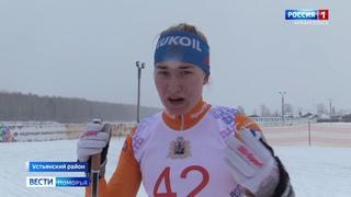 В Устьянах  второй этап зимней Спартакиады учащихся России по лыжным гонкам