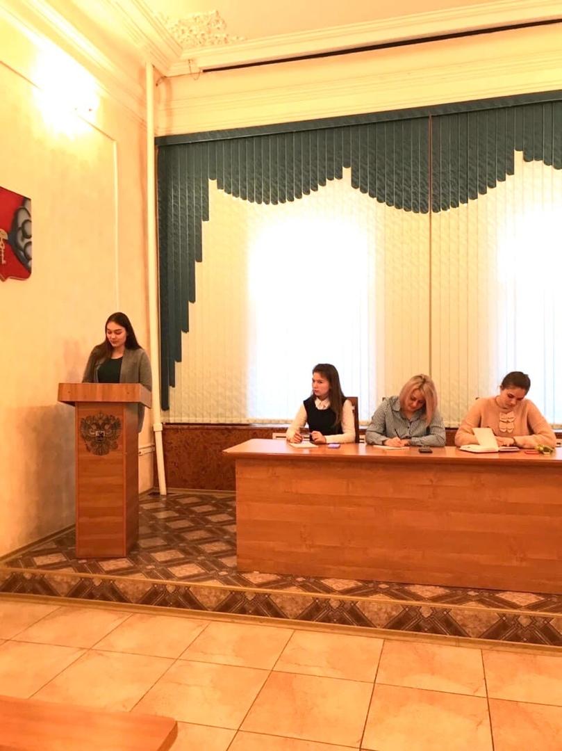 В администрации Петровского района состоялось пленарное заседание Молодёжного парламента III созыва