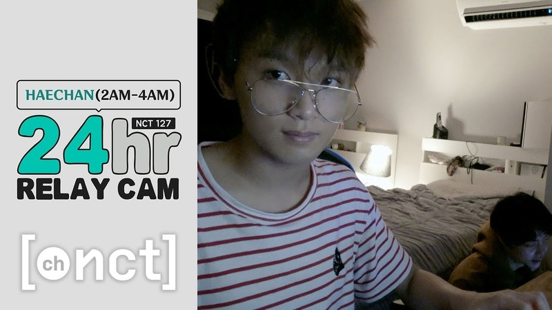 🕐HAECHAN 2 4am|NCT 127 24hr RELAY CAM With 쟈니