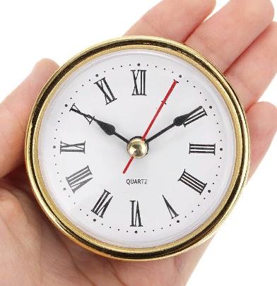 Часовые капсулы с римскими цифрами 10 шт.