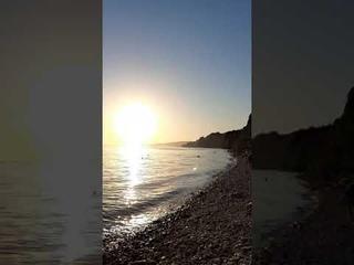 дикий пляж в Сосновке Геленджик  2020