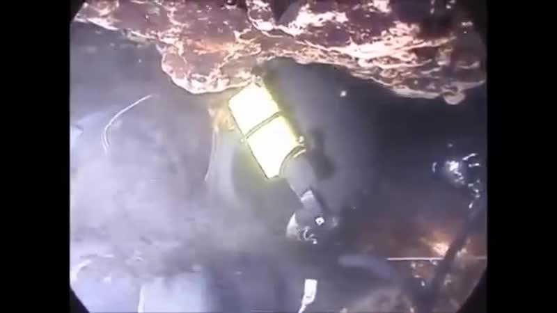 Самая узкая часть пещеры