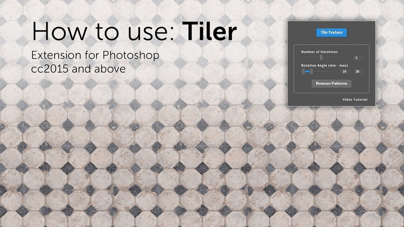 How To Use Tiler 2 Photoshop Extension