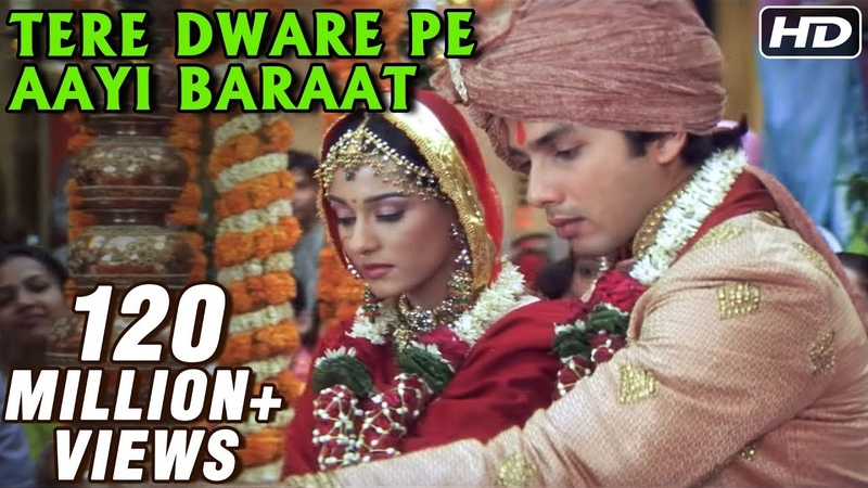 Tere Dware Pe Aayi Baraat - Shahid Kapoor Amrita Rao - Vivah